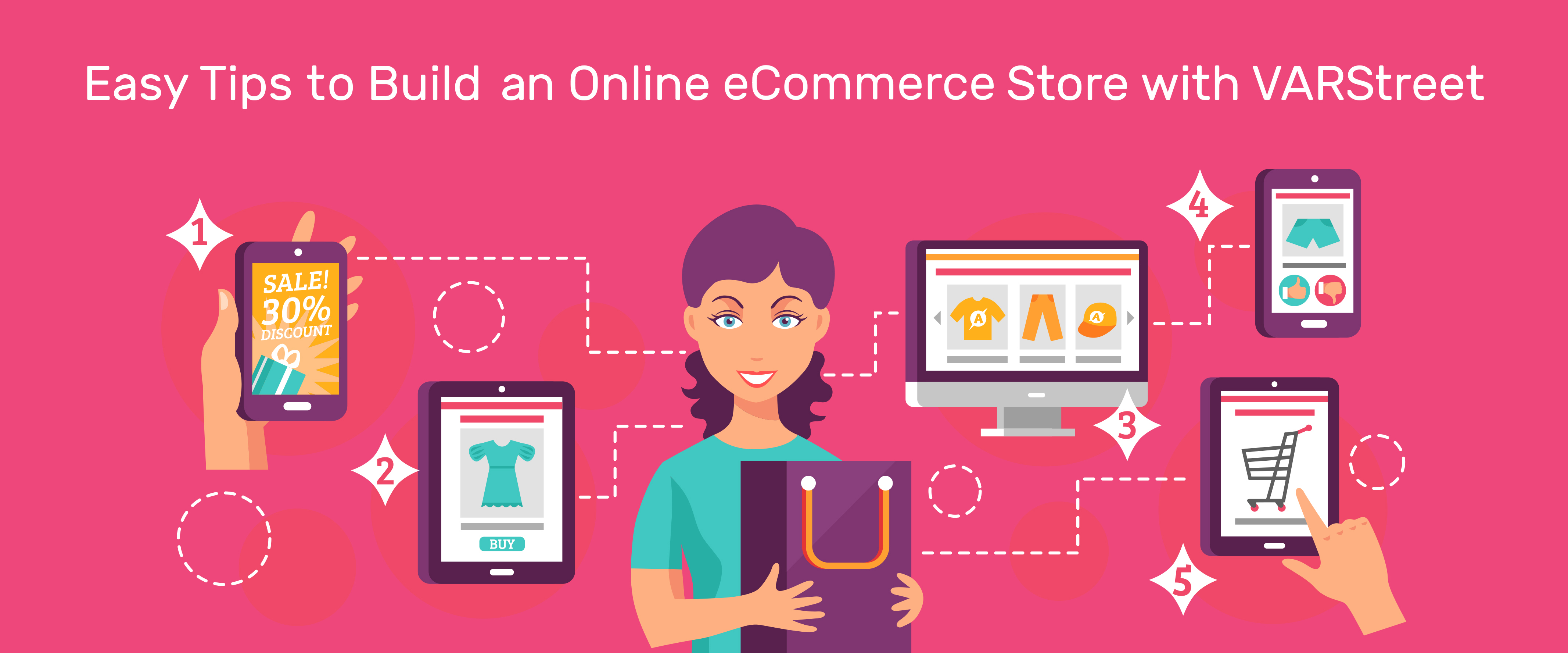 Easy Tips to Build an Online eCommerce Store with VARStreet