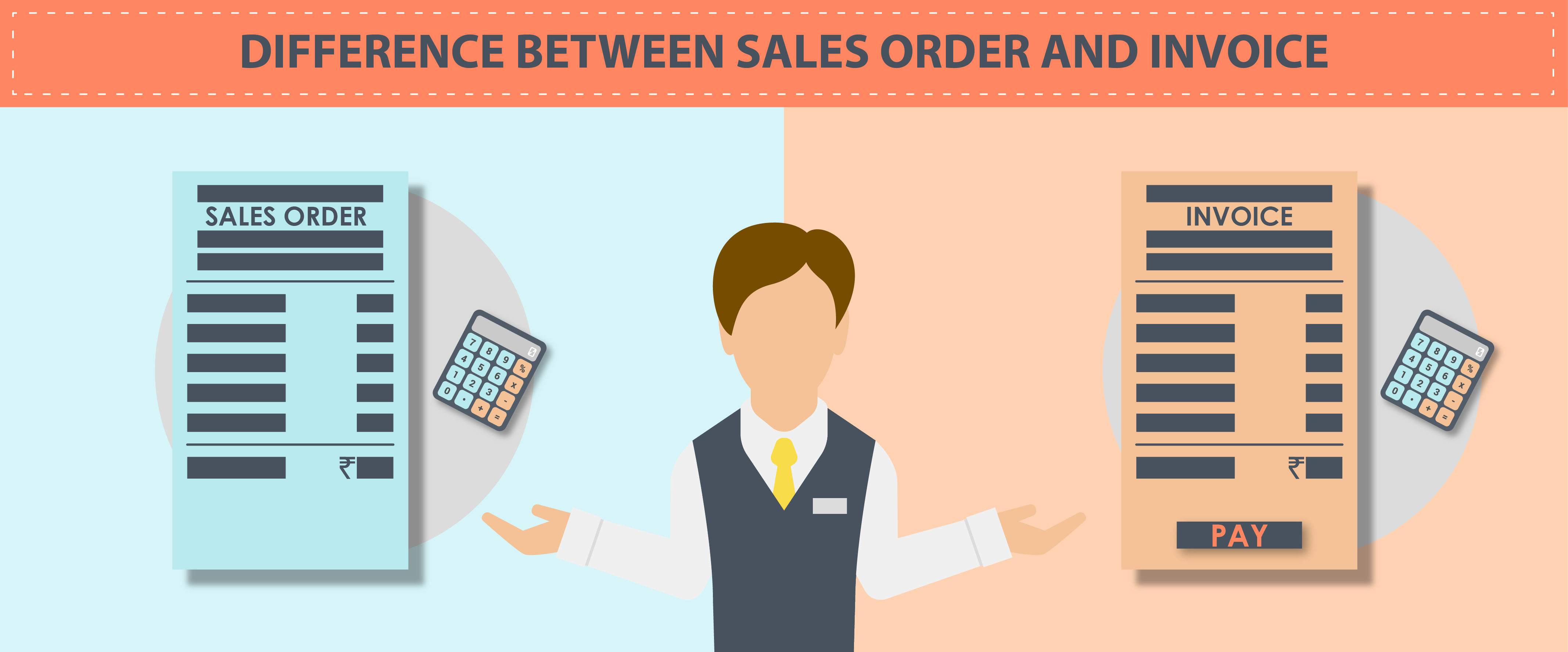 Difference Between Sales Order and Invoice