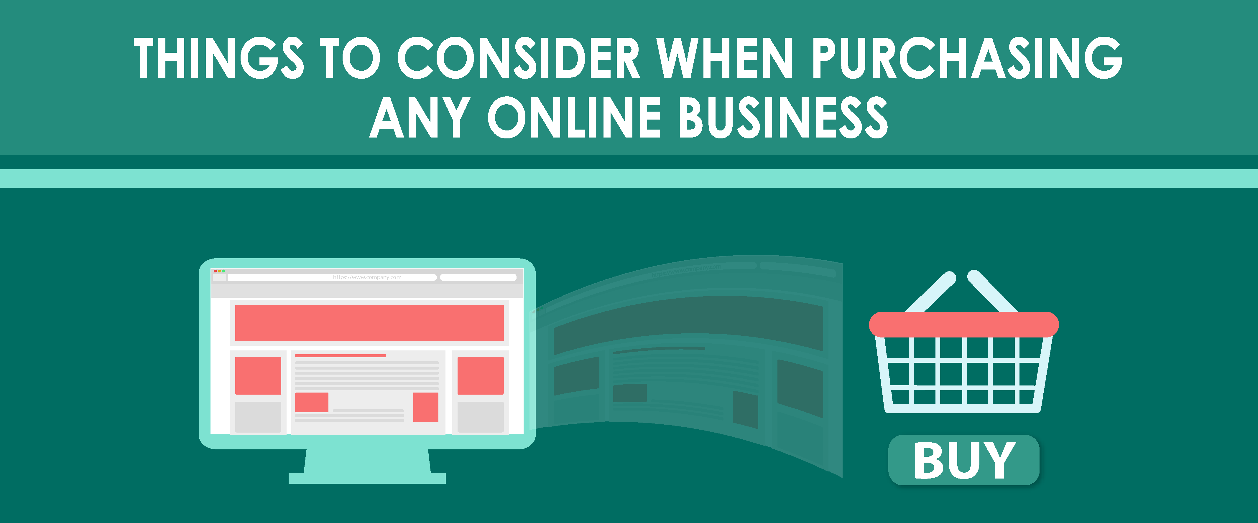 Things to Consider when Purchasing any Online Business