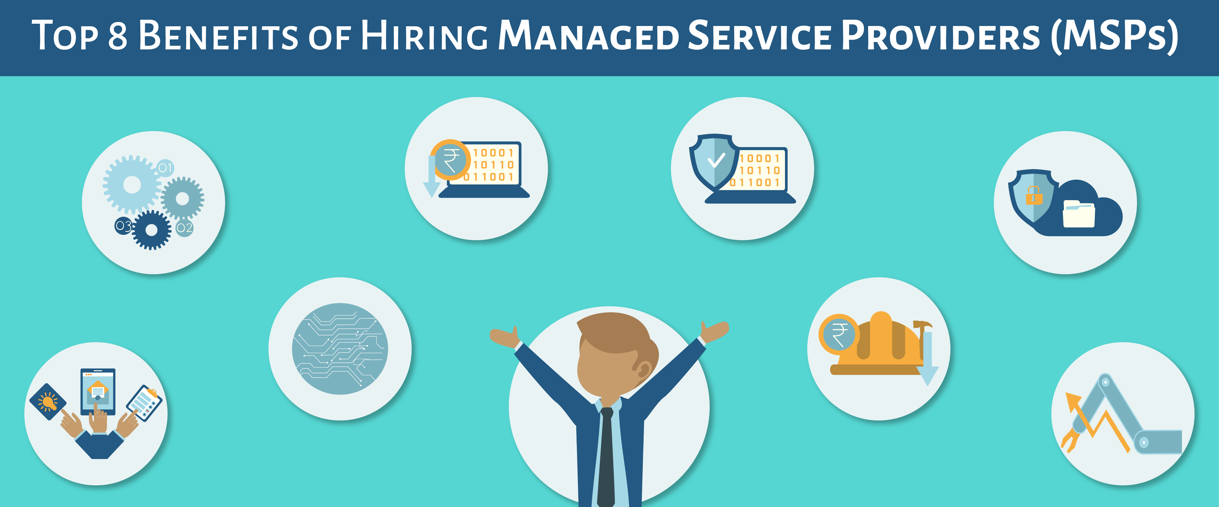 Top 8 Benefits of Hiring Managed Service Providers (MSPs)